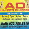 AD Qualified Plumbers