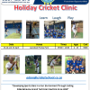 Holiday Cricket Clinic