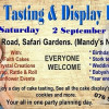 Cake Tasting & Display Event