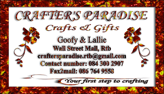 Rustenburg crafters paradise for arts and crafts and art supplies reheart Gallery